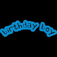 Happy Birthday Boy Comic Logo