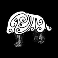 Éléphant bouclé atelier kôta illustration dessins boutique produits artist