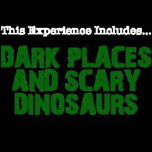 Dunkle Orte und unheimliche Dinosaurier