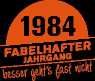 Jahrgang 1980 Geburtstagsshirt: 1984 Fabelhafter Jahrgang geboren