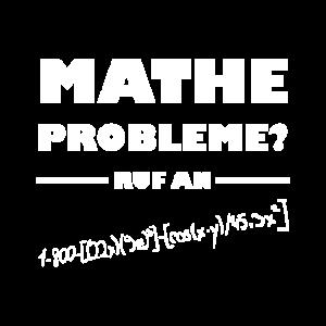 Mathe Probleme - Ruf An!