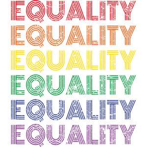 Gleichheit Equality Regenbogenfahne Flagge CSD