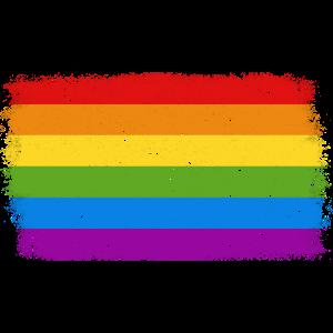 Regenbogenfahne Flagge LGBT CSD schwul lesbisch