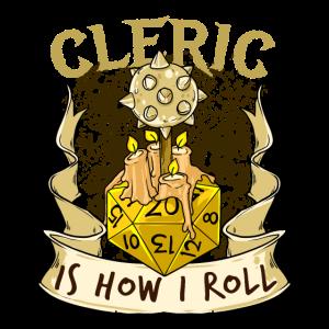 Cleric Würfel Verliese Drachen RPG Kerker Spiel