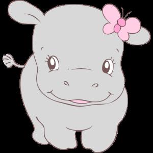 Girl Hippo Hippy