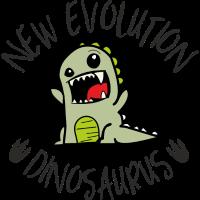 NEW Evolution Dinosaurus Green