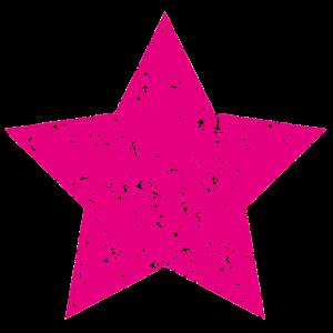 Stern Pink Grunge Style