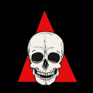 Totenkopf Schädel Totenschädel Horror Halloween