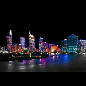 skyline nacht