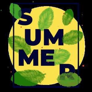 Summer Sonne Urlaub Sommerurlaub Geschenk