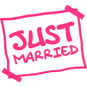 Just Married Notice