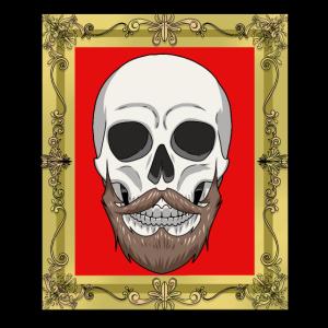 Halloween Horror Fantasy Totenkopf