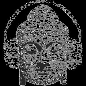 Zerstörter Buddha