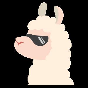 Llama Sonnenbrille Alpaca Geschenk