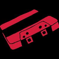 Musikkassette Tonband Music cassette tape retro