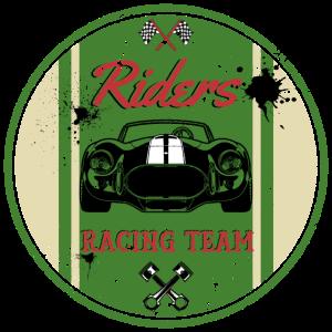 Riders Racer Team Retro Geschenk
