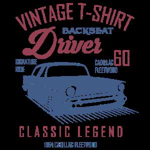 Vintage T-Shirt Driver Geschenk