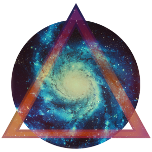 Space galaxy - Dreieck