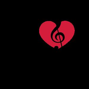 Musik Herz Note love Klassik Chor Stern Klavier