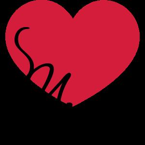 Herz Musik Club i love music heart ich liebe Noten