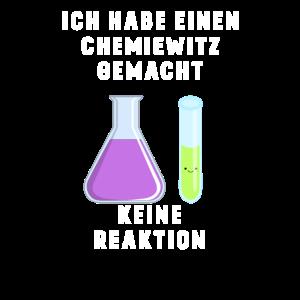 Chemiewitz, keine Reaktion lustig