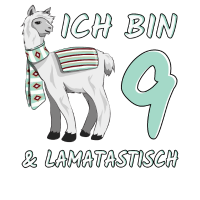 9 Jahre Lama Lamatastisch 9. Geburtstag Geschenk