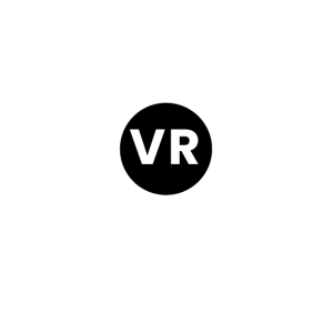 Vr abstract logo
