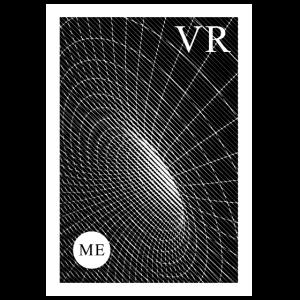Abstract VR virtual reality shirt