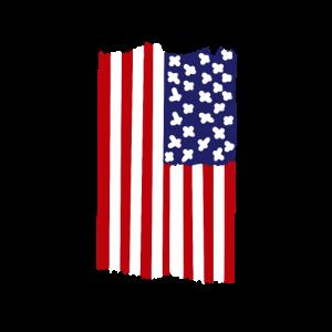 Amerika Vertikal Flagge