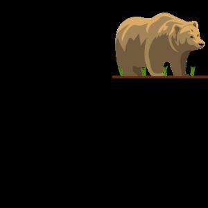 Mama Mutter Bear Bär Mamabär Muttertag Tier Anim