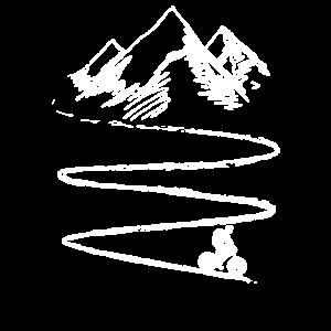 Mountain Bike, Radfahrer, Berge, Fahrrad Geschenk