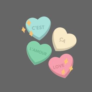 C'est ça l'amour, love