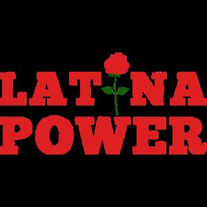 Latina Power Latino Mädchen Geschenk Lateinamerika