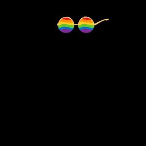 Lgbt Affe lgbtq Geschenk Tier Csd Lustig Gay Pride
