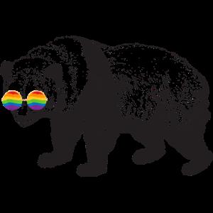 Panda LGBT LGBTQ Lustig Geschenk Csd Tier Statment