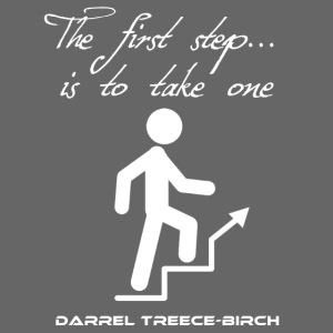 The first step uphill