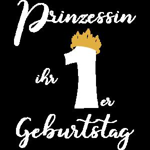 Prinzessin ihr 1ster Geburtstag