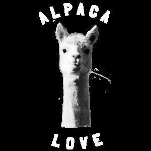 Alpaca Alpaka love Tierfreund Geschenk
