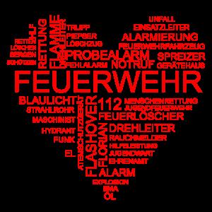 Feuerwehr Herz