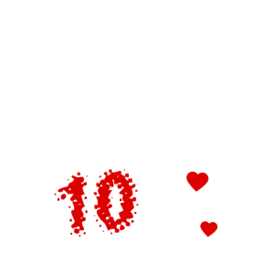 10 Jahre Ehe - Hochzeitstag -Shirt