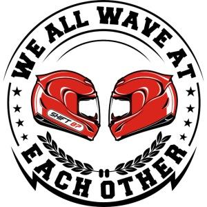 WE ALL WAVE - NOIR