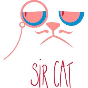 cute Sir cat - Lord - Katze elegant