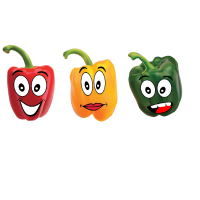 lustige Paprika