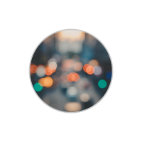 Schlichter Kreis Logo