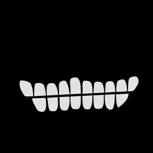 Grinsen / Cheshire cat smile (2c)