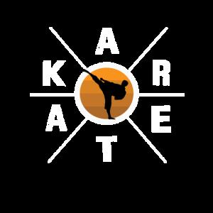 Fantastisches Karate-Hex-Kreuzdesign