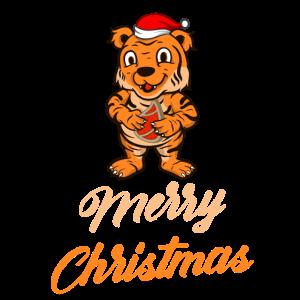 Weihnachten Tiger