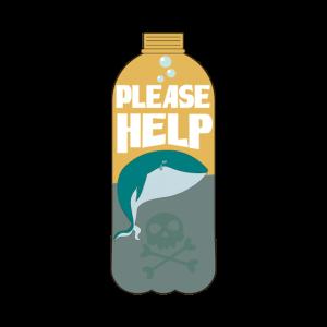 Plastic Free Kein Plastikmüll Save the Ocean Fish