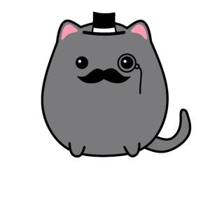 Gentleman Katze