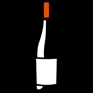 Rotweinflasche 12